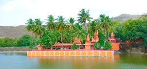 Scenic Ramdara Temple near Pune