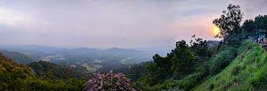 Panorama shot at Madikeri, Karnataka