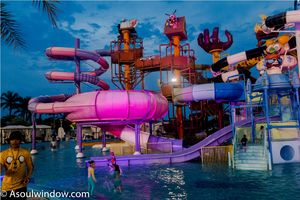 Did you know that the first and only Cartoon Network themed water park is in Thailand!