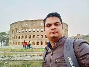 Eco park Kolkata at seven wonders   #SelfieWithAView #TripotoCommunity