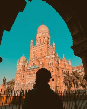 The regal #BombayMunicipalCorporation (BMC) building is an important part of Mumbai's architectural