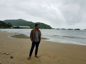 Palolem Beach Goa.