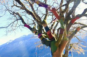 Memories quivered long after fall had taken the last leaf.. #Swissautumn #Brienz #tripotocommunity