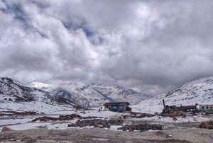 Nathu La  mountain pass in East Sikkim