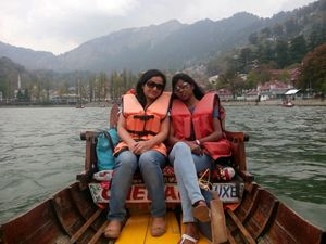 In city of lake-Nainital