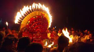 Theyyam performance