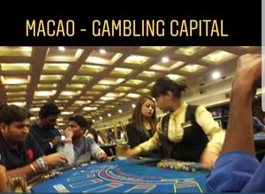 Macao - Gambling Capital of Tiny Region#20ThingsILoveAboutMacao