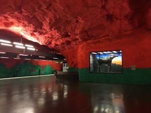 Exploring Stockholm's Underground Art
