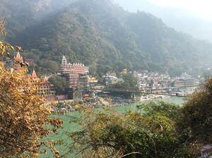 When in Rishikesh, say 'Har Har Gange'.