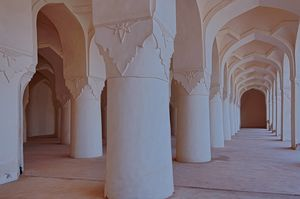 Solah Khamba Mosque and Bidar Palace Interiors