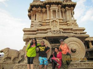 Backpacking to Hampi for an extended weekend