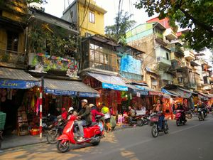 Hanoi: Watching the world go by