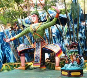 Haw Par Villa: Singapore's hell on earth