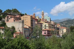 Ventimiglia - The sea and the old town