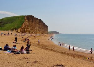 West Bay, East Cliff, Dorset