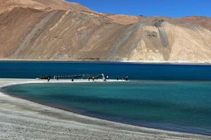 Trip to Pangong Tso Lake