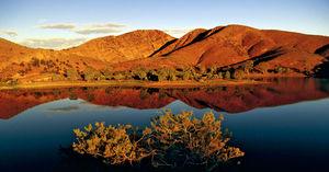 Itinerary of the 'Flinders Range', Australia.