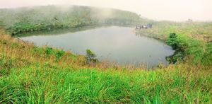 Chembra Peak trek: The Heart Shaped lake in Wayanad