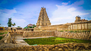 This is How I solo traveled Hampi in one day! #Hampi#Solo#Karnataka