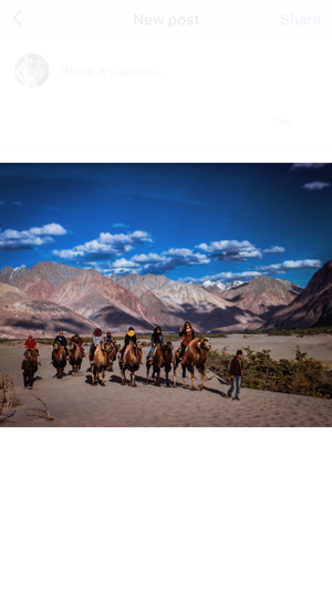 Trip To Nubra Valley