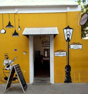 Pondicherry : all about amazing Continental Food and Doors.