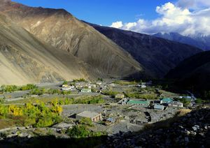 Spiti on a motorcycle