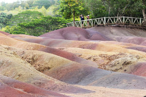 Seven Coloured Earth in Chamarel 1/undefined by Tripoto