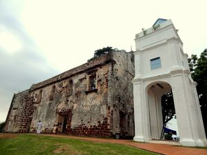 Porta de Santiago Bandar Hilir Malacca Malaysia 1/undefined by Tripoto