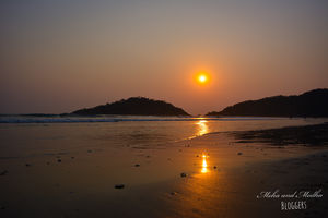 A picturesque beach for Sunset : Palolem