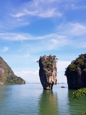 James Bond! The island in PhangNga bay. Beauty and the beast.
