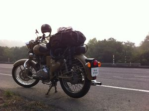 The motorcycle diaries – from the financial capital to the national on Royal Enfield