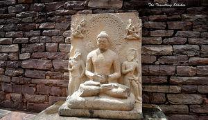 Sanchi: Stupa, Antiquity, Enlightenment