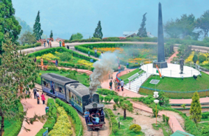 Darjeeling Himalayan Railway - A scenic panorama all the way up to Darjeeling #BestTravelPictures -