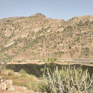 Badi lake view