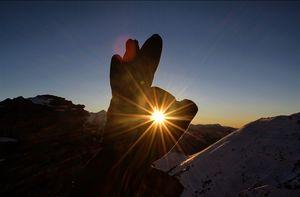 18 year old, solo trekker - Snowtrek experience #nighttrek #photoblog