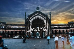 This photo was taken in lucknow...this photos shows the beauty of lucknow..city of nawabs
