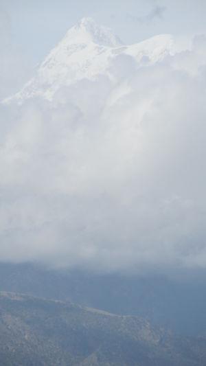 Gwaldam - Vantage point to the Mighty Trishul Peak