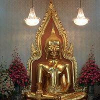 Golden Buddha Mittaphap Thai-China Road Bangkok Thailand 4/5 by Tripoto