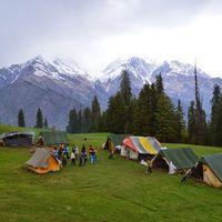 Camp 6 - Bhandak Thatch 2/5 by Tripoto