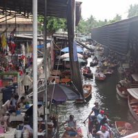 Damnoen Saduak Floating Market Damnoen Saduak Ratchaburi Thailand 3/3 by Tripoto