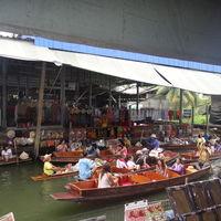 Damnoen Saduak Floating Market Damnoen Saduak Ratchaburi Thailand 2/3 by Tripoto