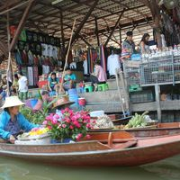 Damnoen Saduak Floating Market 4/4 by Tripoto