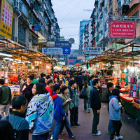 Temple Street Night Market 3/4 by Tripoto