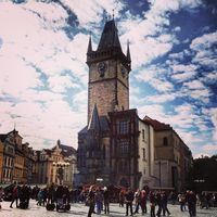 Prague Astronomical Clock 3/6 by Tripoto