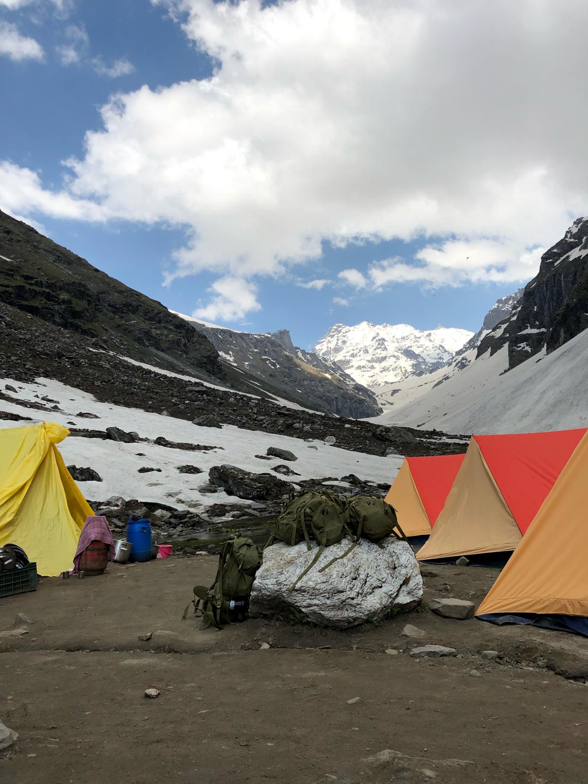 Photo of Hampta pass trek By Ayush Tiwari
