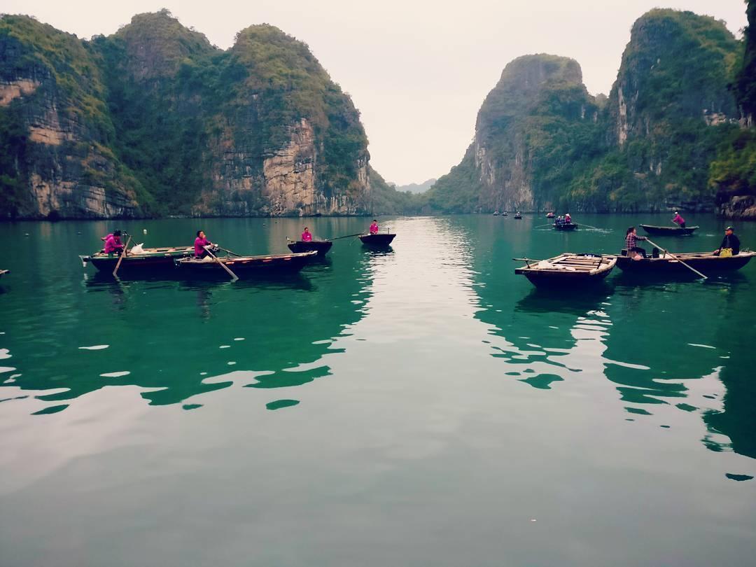 Photo of Halong Bay Vietnam By Radhika Kabani