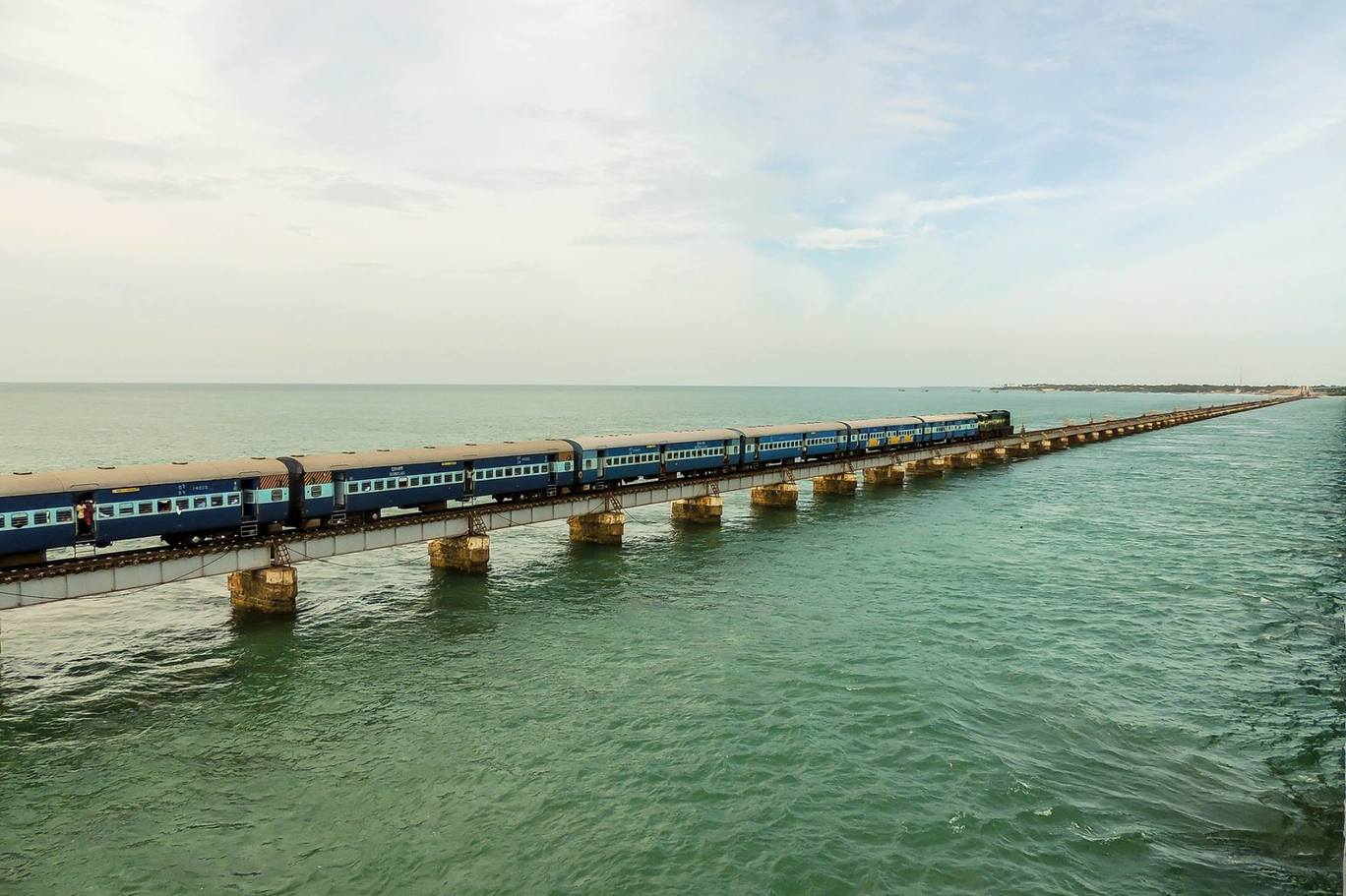 Photo of Pampan Palam - Rameswaram #splendorJourneys By Ebin Ephrem Elavathingal