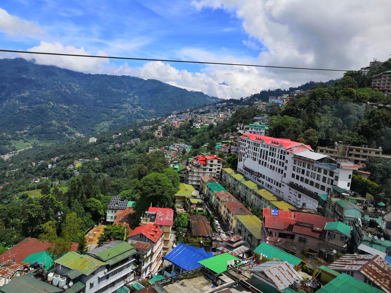 Photo of Gangtok Ropeway By Traveler Shubham Gupta