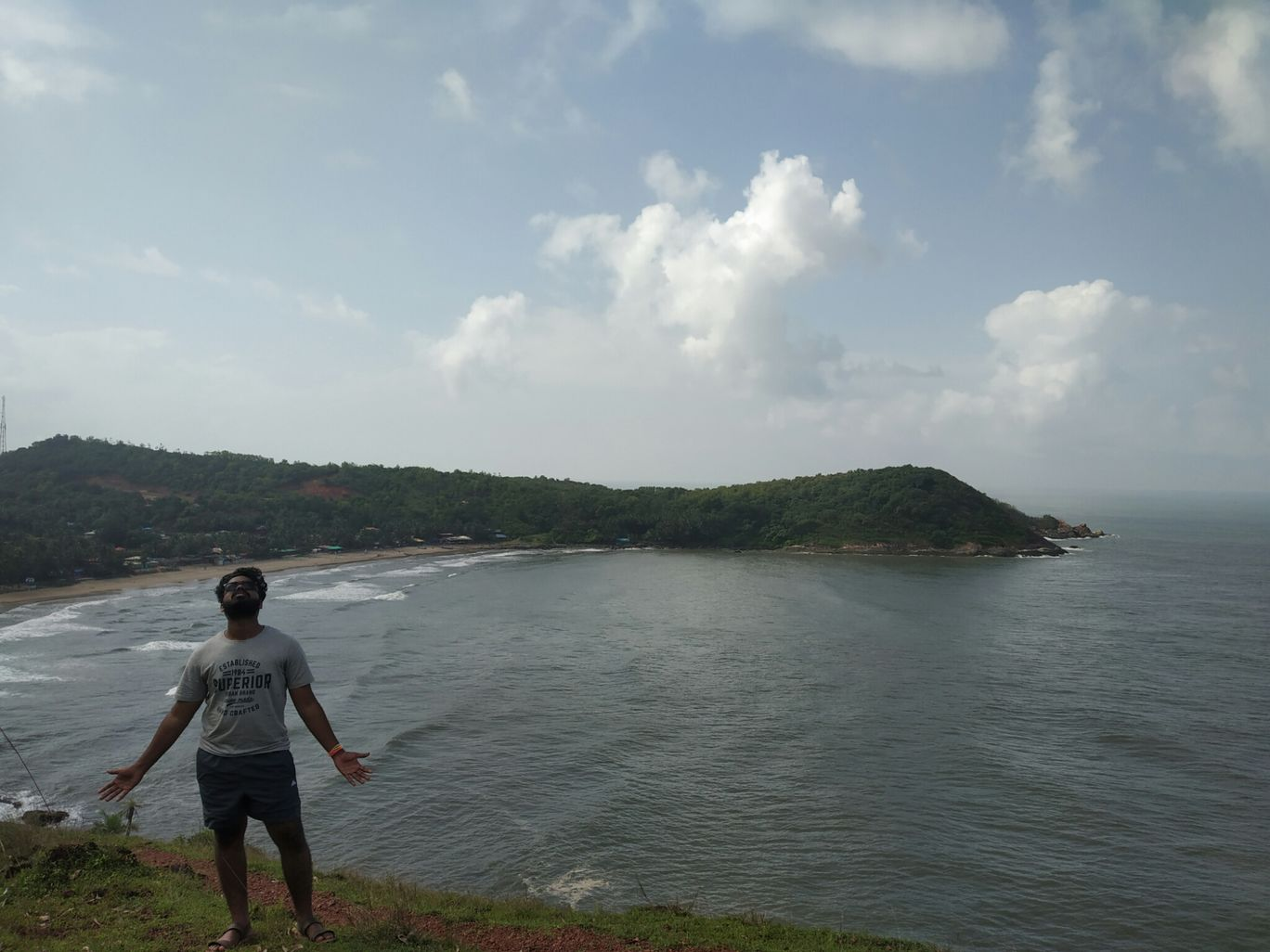 Photo of Kudle Beach Hill Top By the wanderer
