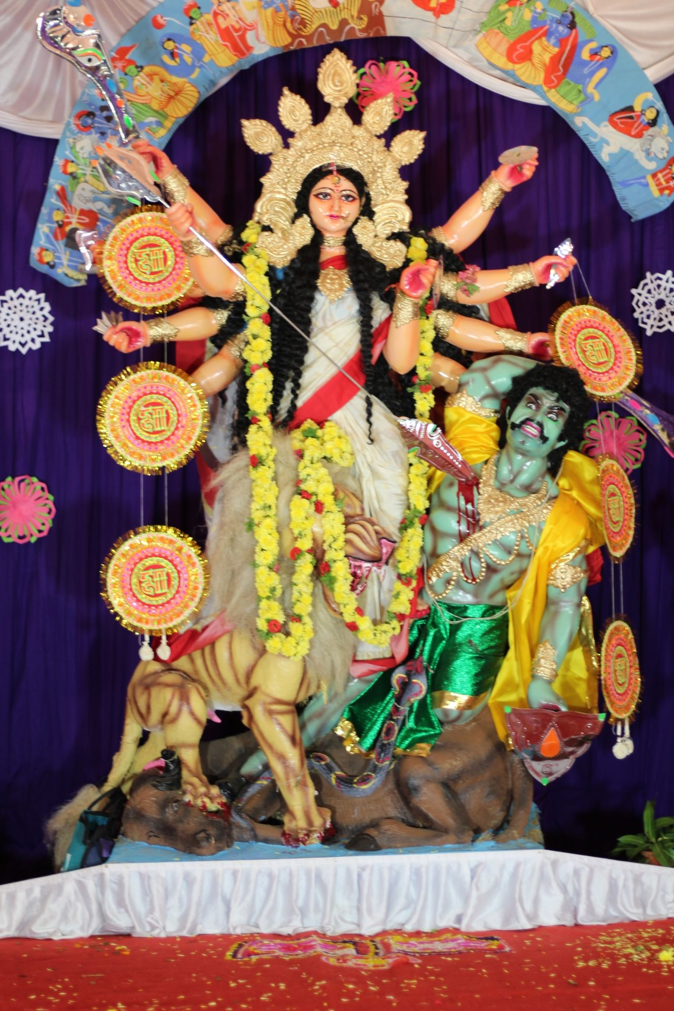 Photo of Durga puja 2018 By Satyajit Das